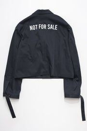 """NOT FOR SALE"" Single Breated Jaket"