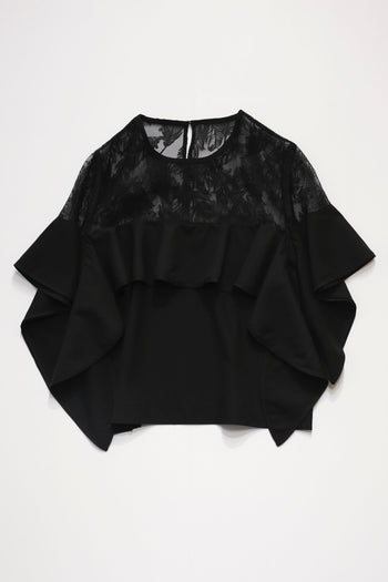 Opal frill blouse