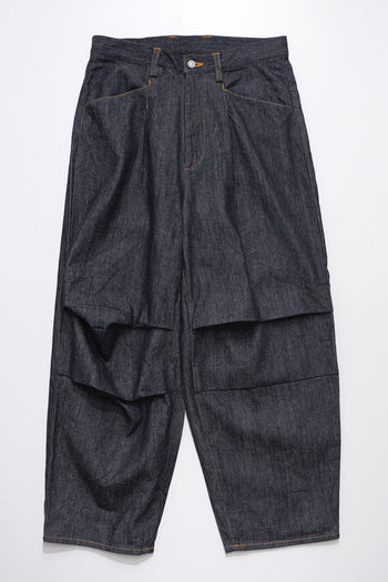 Denim Dart Pants