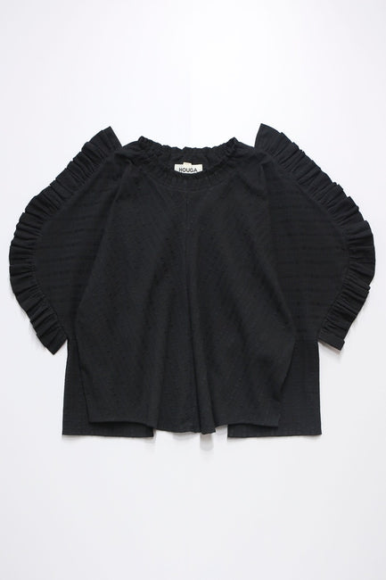 Windy tops -black-