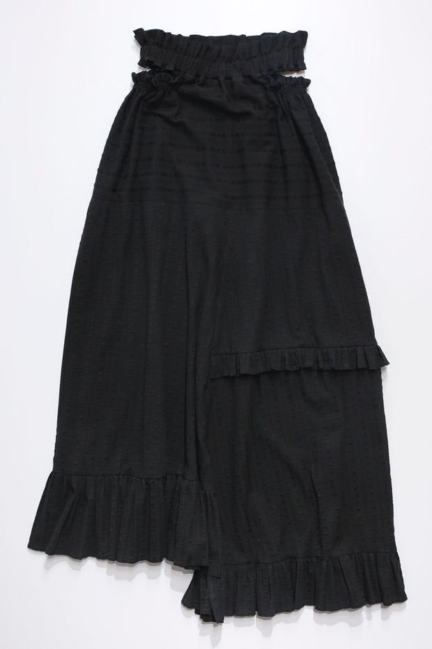 Windy skirt -black-