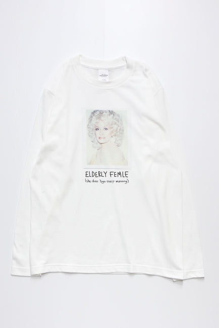 ELDERLY FEMALE L/S TEE