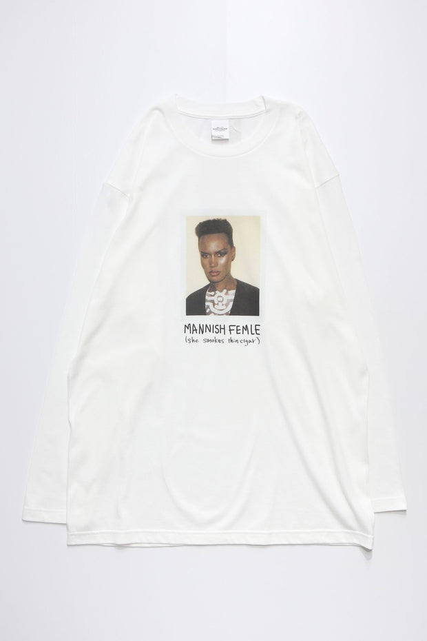 MANNISH FEMALE L/S TEE