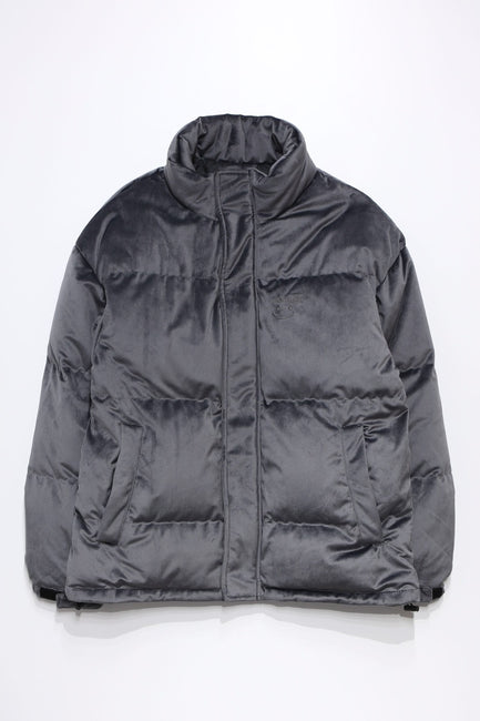 Velvet light down JACKET