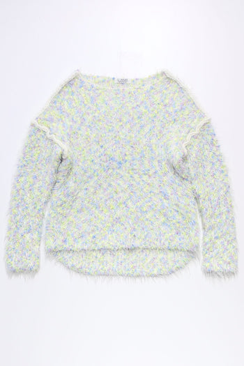 Mix Pompon Pullover