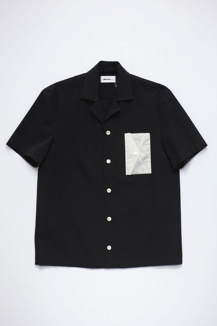 Letter Pocket Shirt