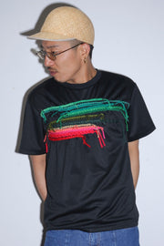 Embroidery T-Shirt  Black