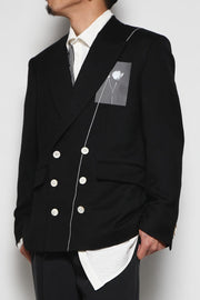 Asymmetry Lapel Jacket