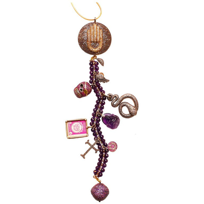 'Voo Doo' Symbol Tree Necklace