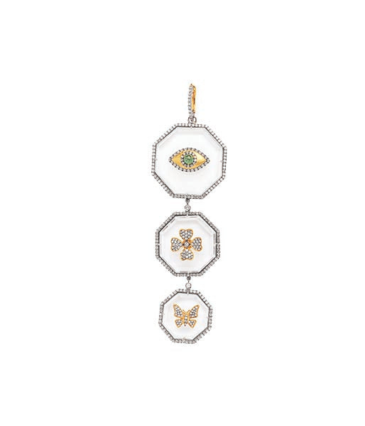 3 Tier Crystal Pendant Collection