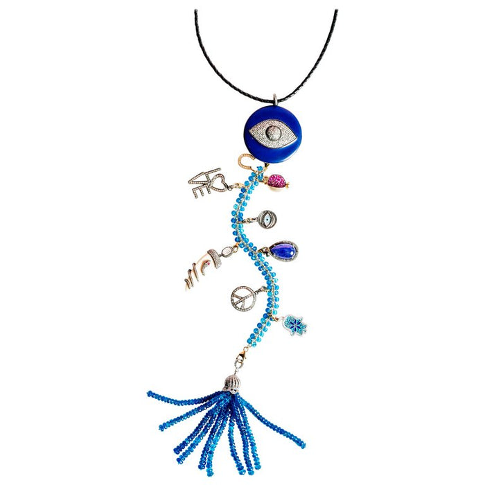 Blue Is The Warmest Color Symbol Tree Necklace