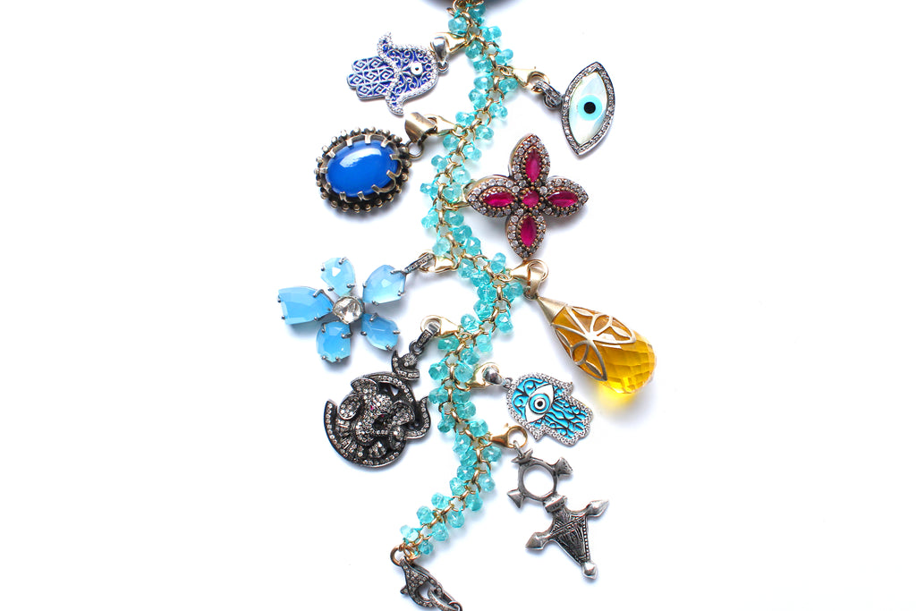 Eternal Fun Symbol Tree Necklace