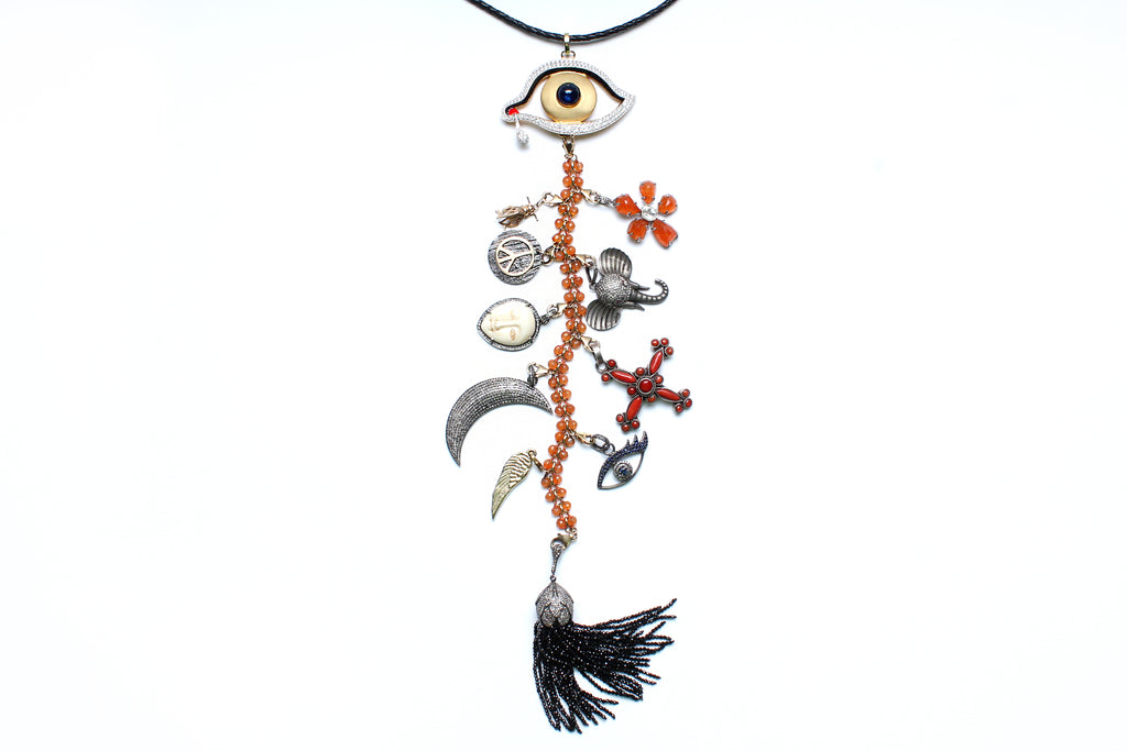 'Introspective' Symbol Tree Necklace