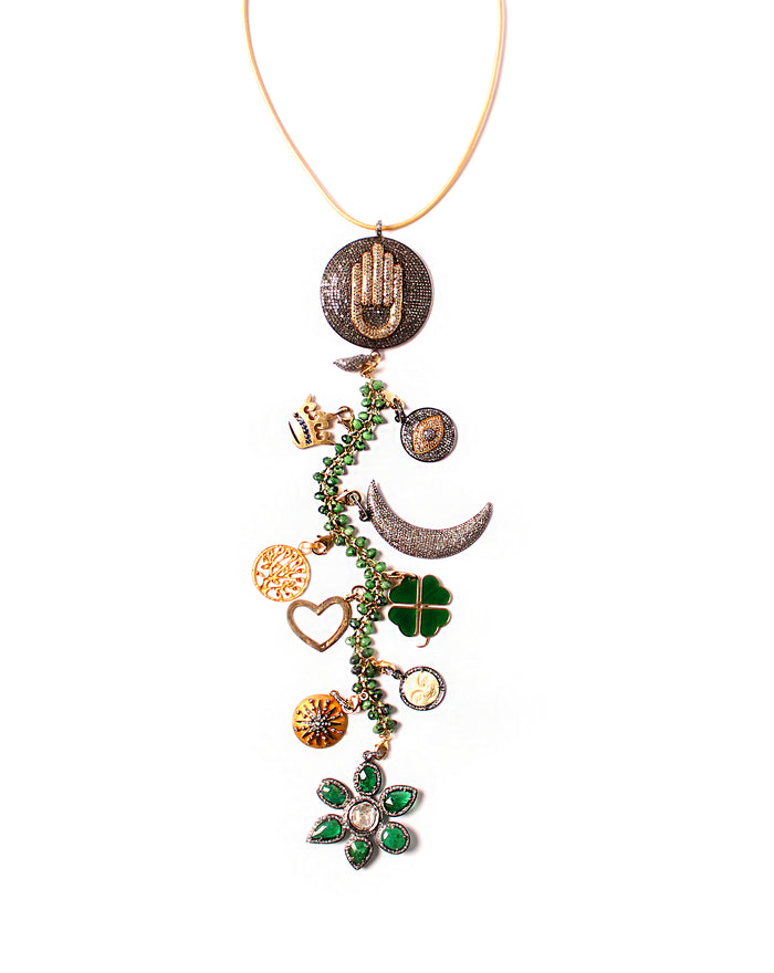 'Tempest' Symbol Tree Necklace