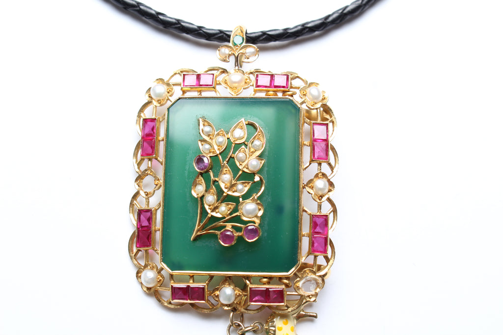 "'Queen Shiva I"" Symbol Tree Necklace"