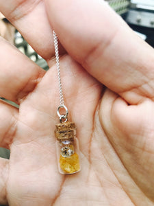 I am Abundant Crystal Necklace by Perpetual Alchemy - The Local Variety