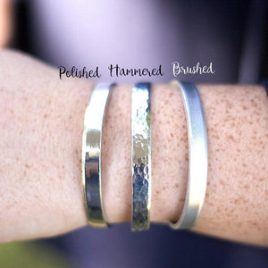 Confidence Cuffs Hand Stamped Bracelets by Jessie Girl Jewelry - The Local Variety