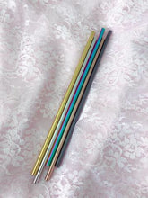 Stainless Steel Straws Reusable Eco-Friendly Green Gift Rainbow Unicorn Rose Gold Black Metal - The Local Variety