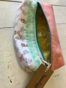 Multi-Fabric Boxed Zipper Pouches by HowdyGirlDesigns - The Local Variety