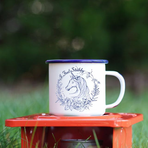 Stabby Unicorn Mug 12oz - The Local Variety