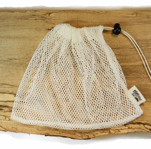 Mesh Laundry Bag by Marley's Monsters Reusable Eco-Friendly Green - The Local Variety