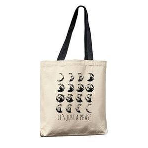 Canvas Tote Bags Market Gift Reusable from Moonlight Makers