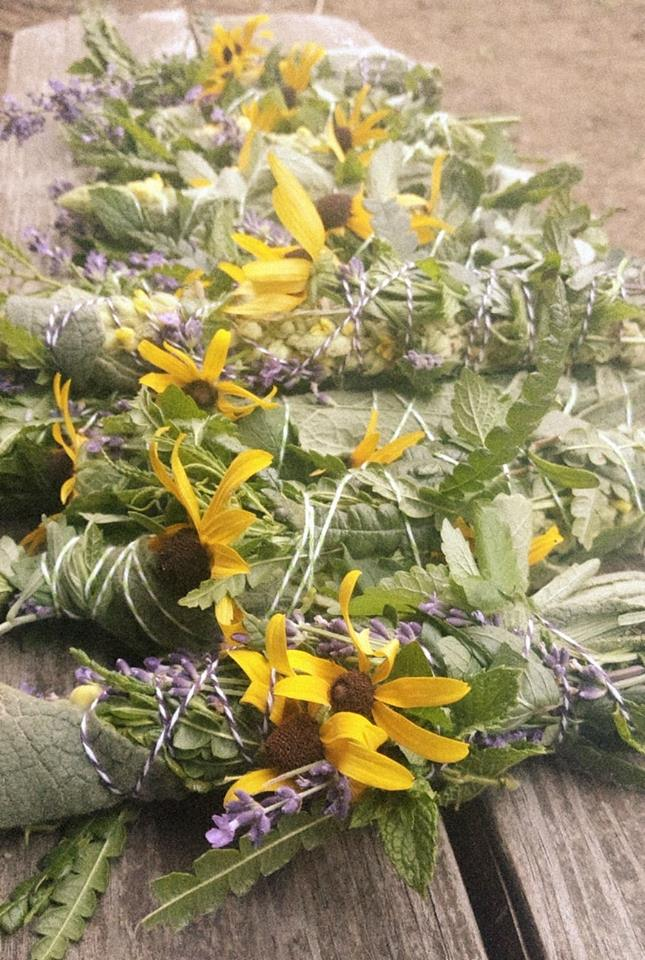 Artisan Smudge Sticks - Herbal Wild Flower Blend from Fresh New Life  Homestead Made in Maine