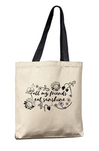 Canvas Tote Bags Market Gift Reusable from Moonlight Makers - The Local Variety
