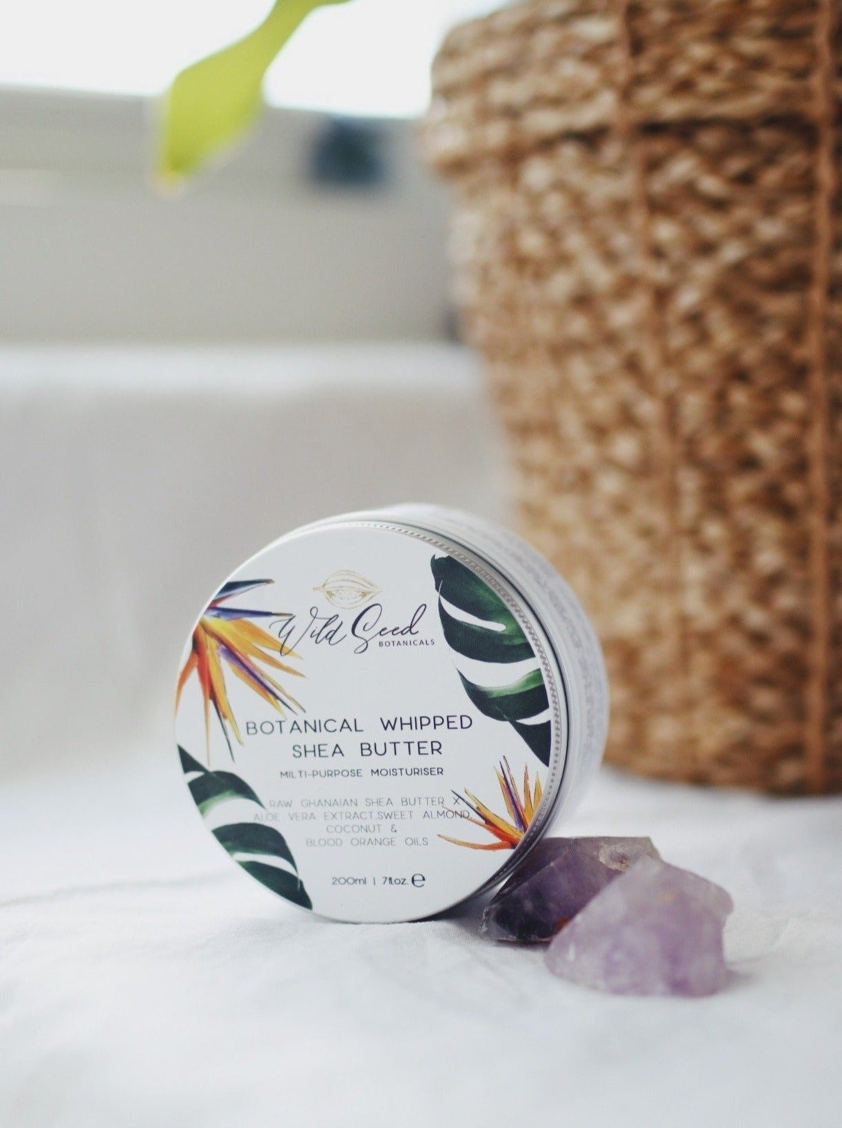 Botanical Whipped Shea Butter - Wild Seed Botanicals