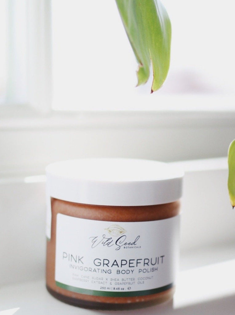 Pink Grapefruit Body Polish - Wild Seed Botanicals