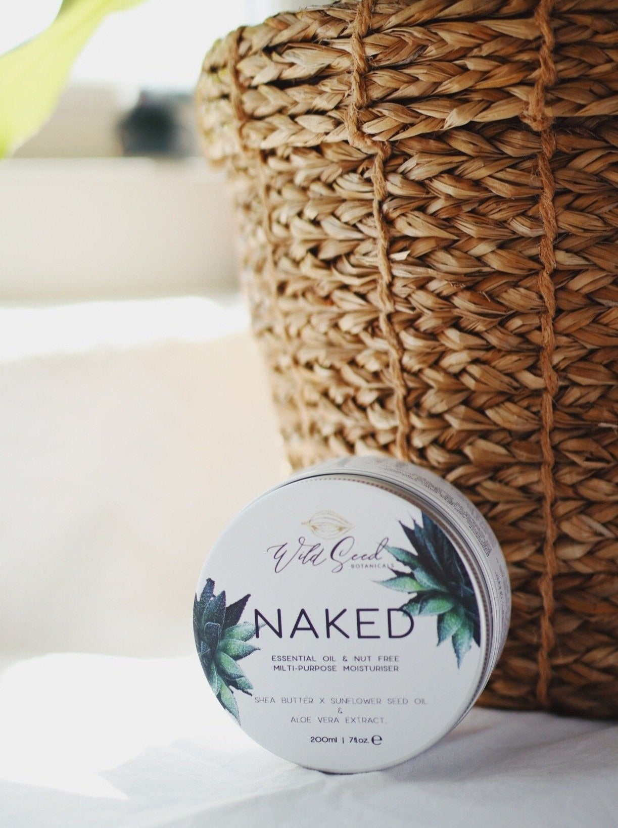Naked Whipped Shea Butter - Wild Seed Botanicals