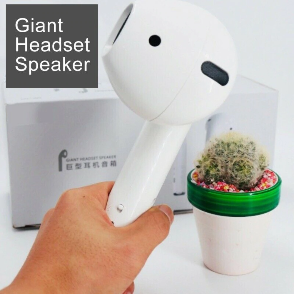 New Lossless sound quality Noise-cancelling Bluetooth audio Giant Headset Speaker Wireless Bluetooth Earphone Speaker