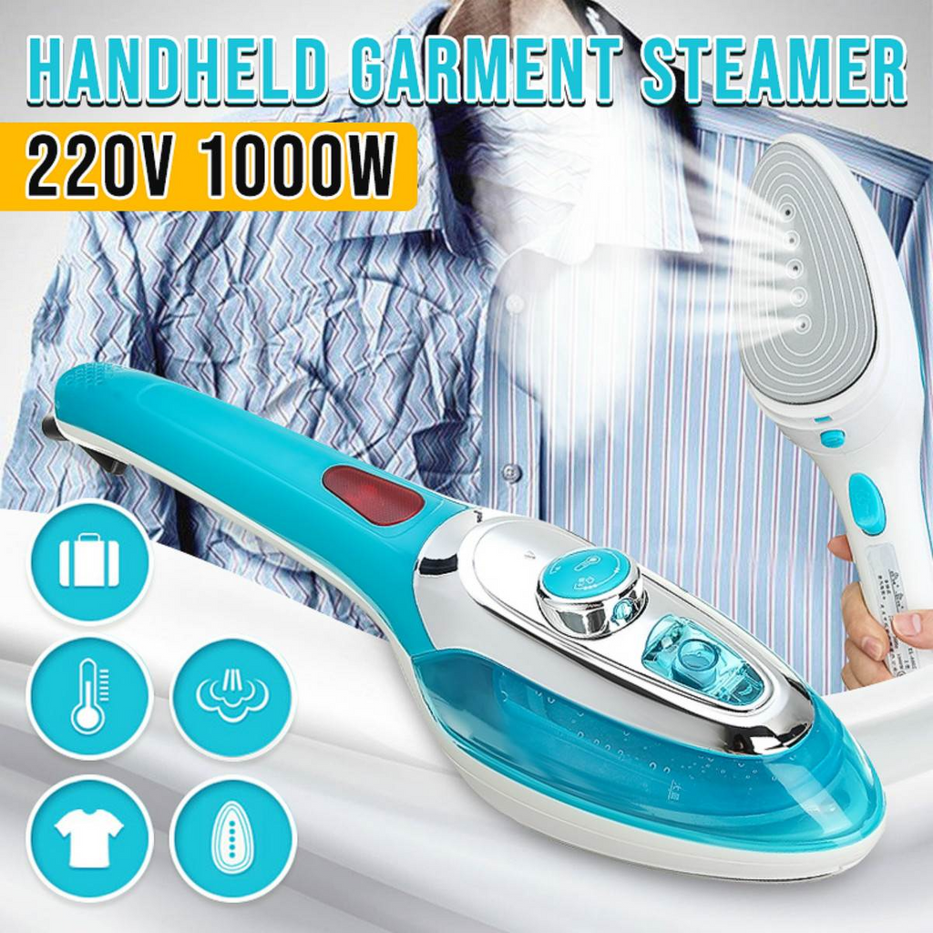 Portable Handheld Travel Iron Garment Steamer Home Clothes Electric Iron Steam Brush Fabric Laundry Ironing Machine