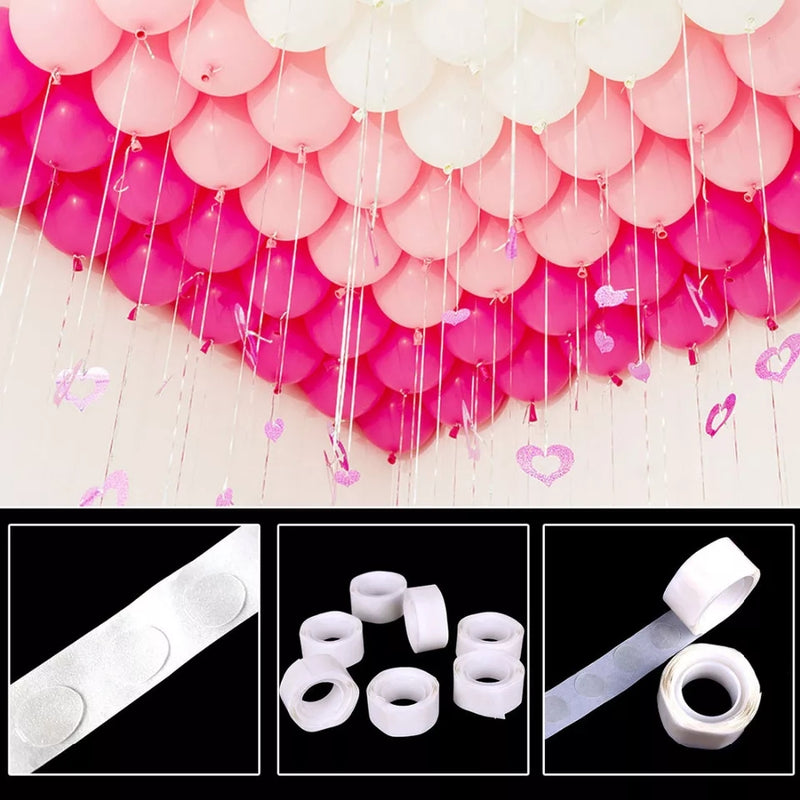 Air Balloon Stickers 1 Roll 100 Pcs Creative Holiday Decoration