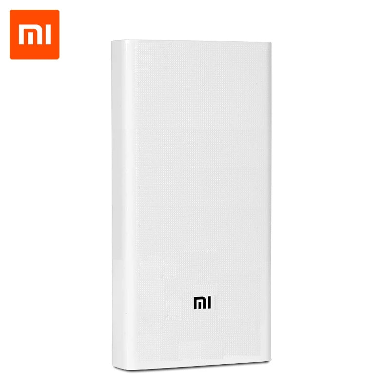 Power Bank 20000mAh 2C portable charger Support QC3.0 Dual USB Mi batterie externe mini mi powerbank for Mobile Phones