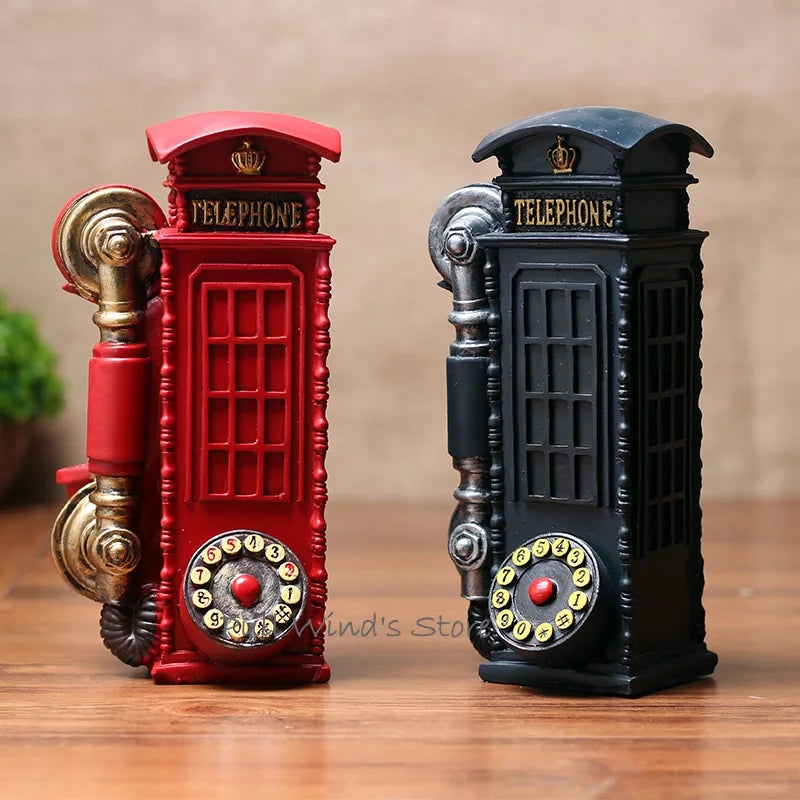 Resin Luxury Telephone Booth Landline Wifi Bar Service - ShopnHob (3570040176720)