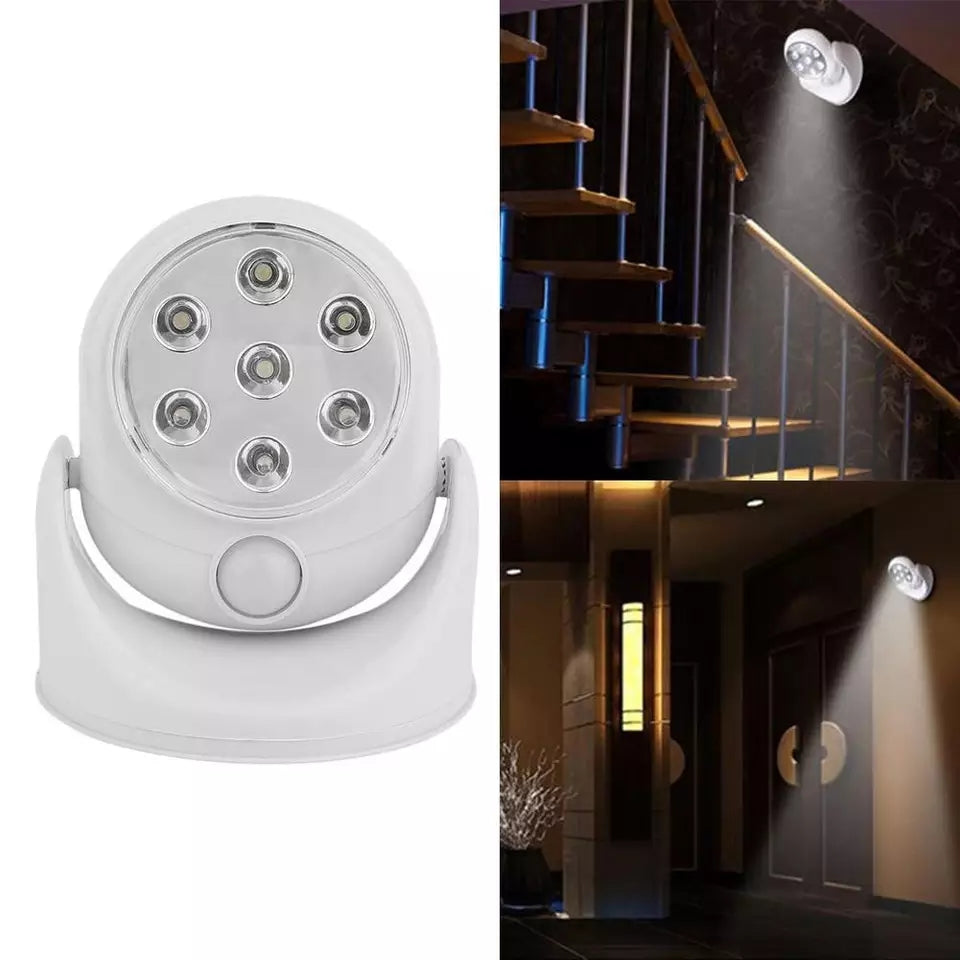 LED Motion Activated Infrared Sensor Light 360 Rotatable Automatic Swimming Outdoor Nithg Bathroom Lamp Light Pool Porches