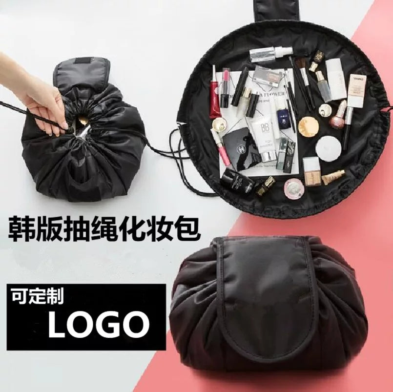Portable Large Capacity Cosmetic Bag Waterproof Makeup Organizer