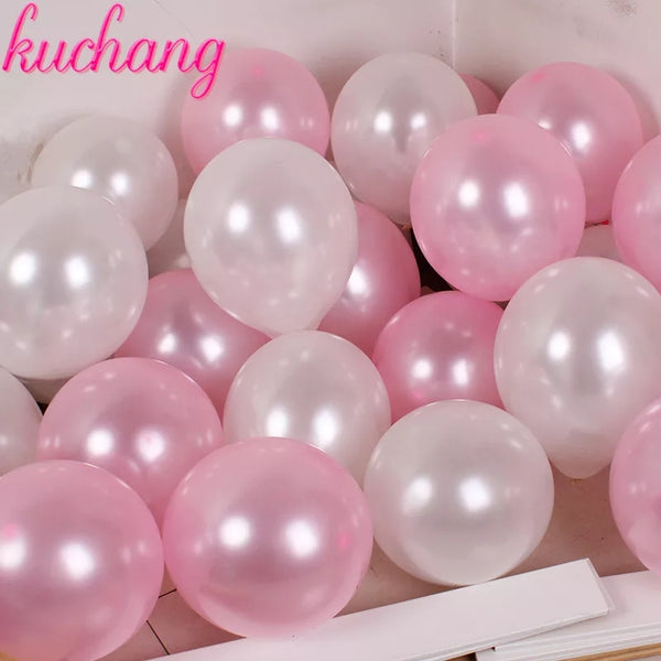 100pcs Foil Colorful Birthday Decoration Balloons - ShopnHob