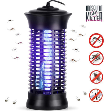 Portable Electric LED Mosquito Killer Lamp USB Insect Killer Bug Zapper Mosquito Fly Trap UV Night Light Anti Insects