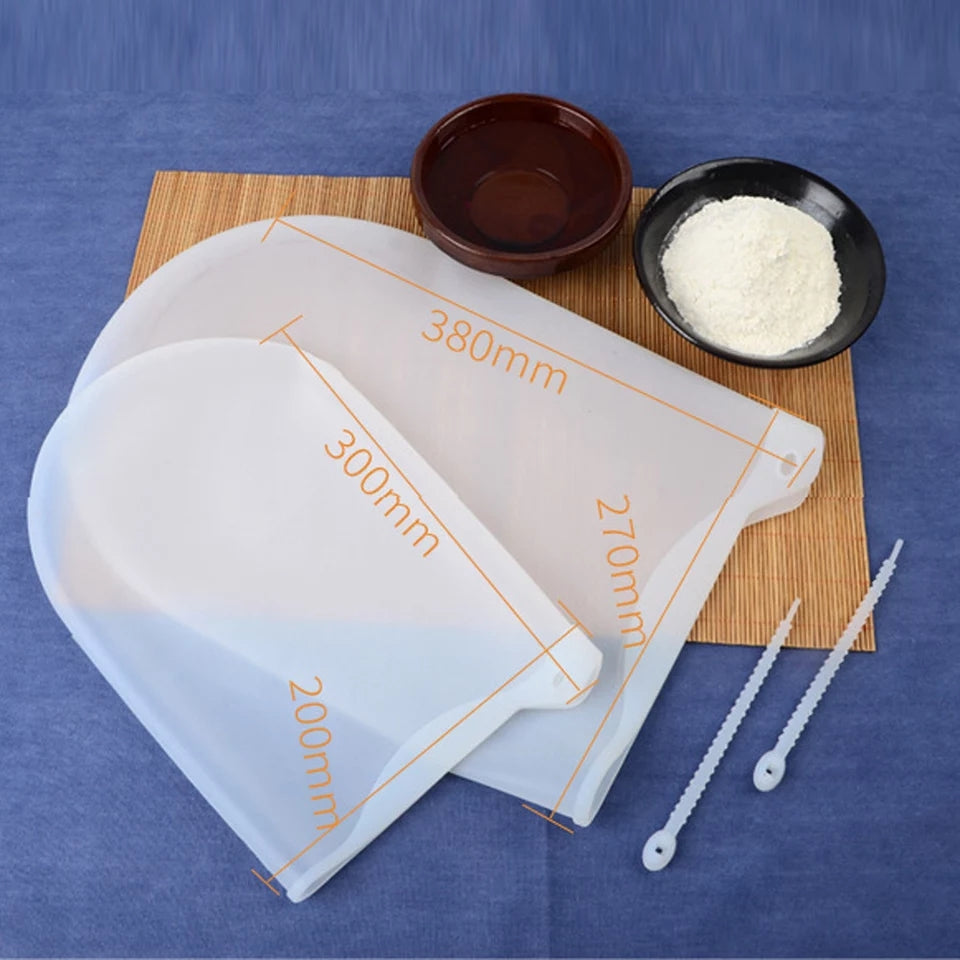 Silicone Kneading Dough Bag Flour Mixer Bag Versatile Dough Mixer for Bread Pastry Pizza Kitchen Tools
