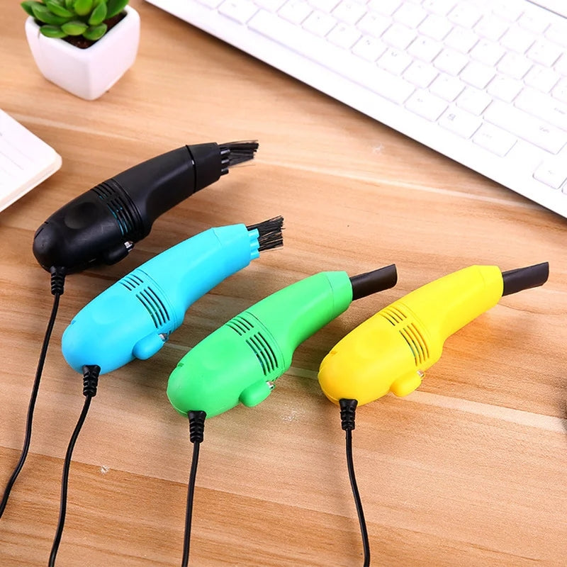 1pc USB Keyboard Cleaner PC  Laptop cleaner Computer Vacuum Cleaning Kit Tool Remove Dust Brush Home Office desk