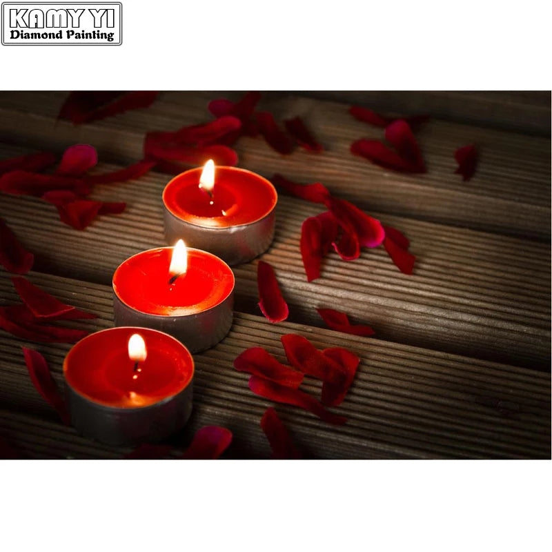 10pcs/set Romantic Decorative Candle Tealight Smokeless Oil Candles - ShopnHob