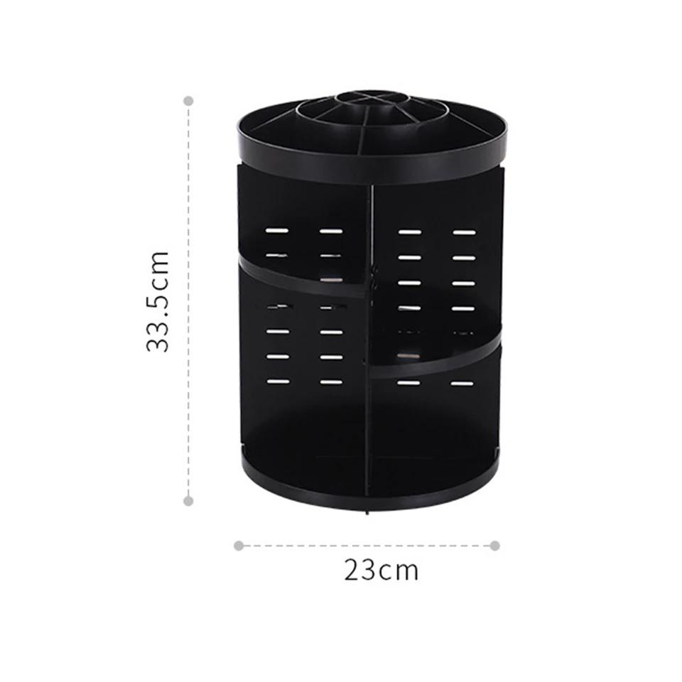 Makeup Organizer Desktop storage Multifunctional 360-Degree Rotating Removable DIY Cosmetic Storage Box Large Capacity - ShopnHob (3587207561296)