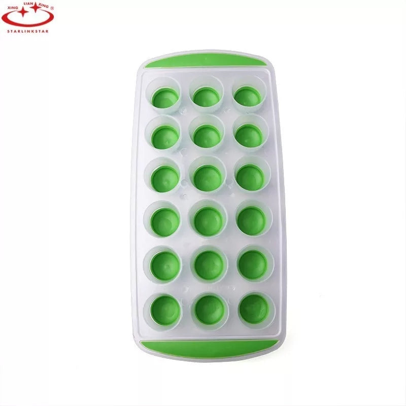 18 Grids Round Ice Tray Ice Cube Ice Cream Mold Ice Form Kitchen Accessories Cooking Tools Candy Bar
