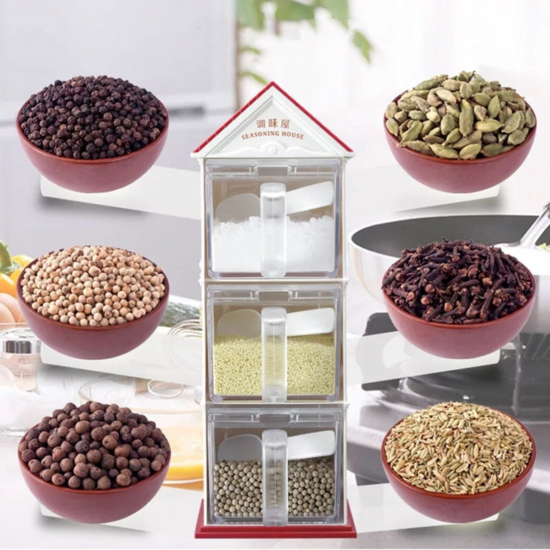Kitchen Spice Organizer House Spice Storage Rack - ShopnHob (3557021941840)
