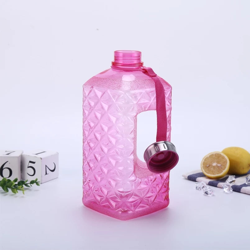 2.2L Large Capacity Water Bottles Outdoor Sports Gym Half Gallon - ShopnHob