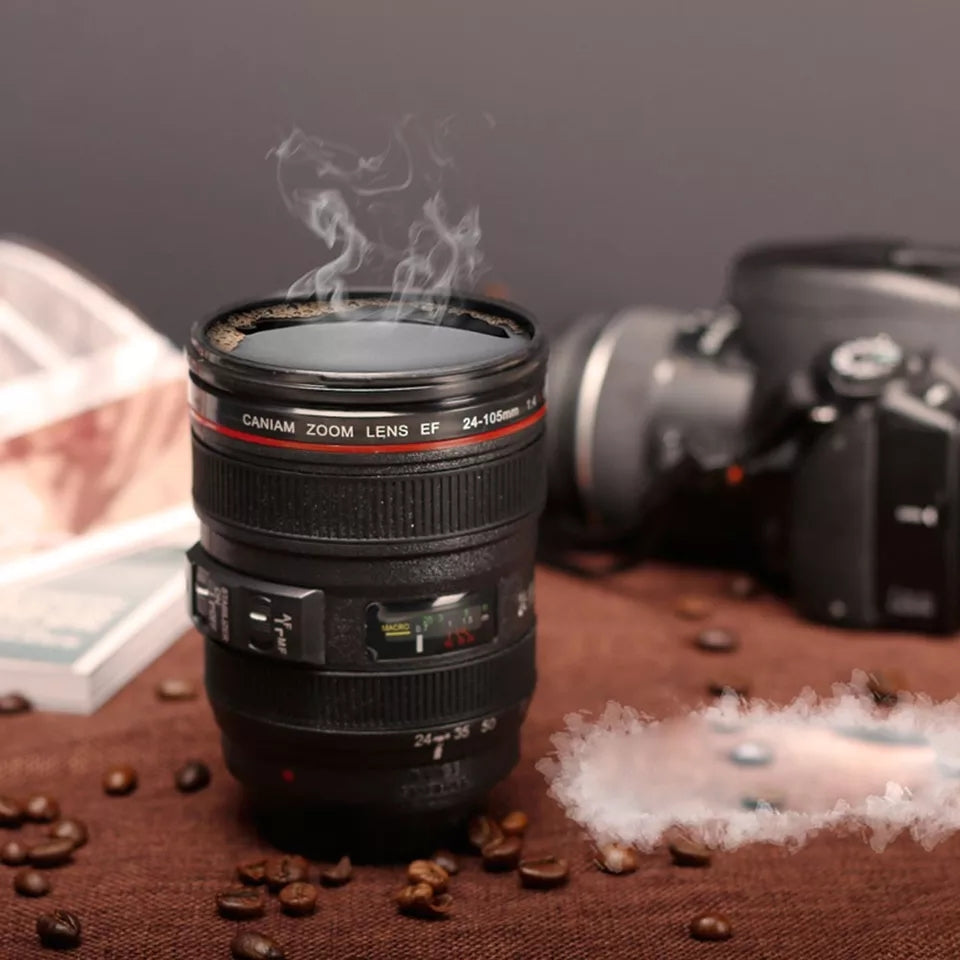 New 400ml Coffee Camera Lens Mug Cup - ShopnHob (3605338161232)
