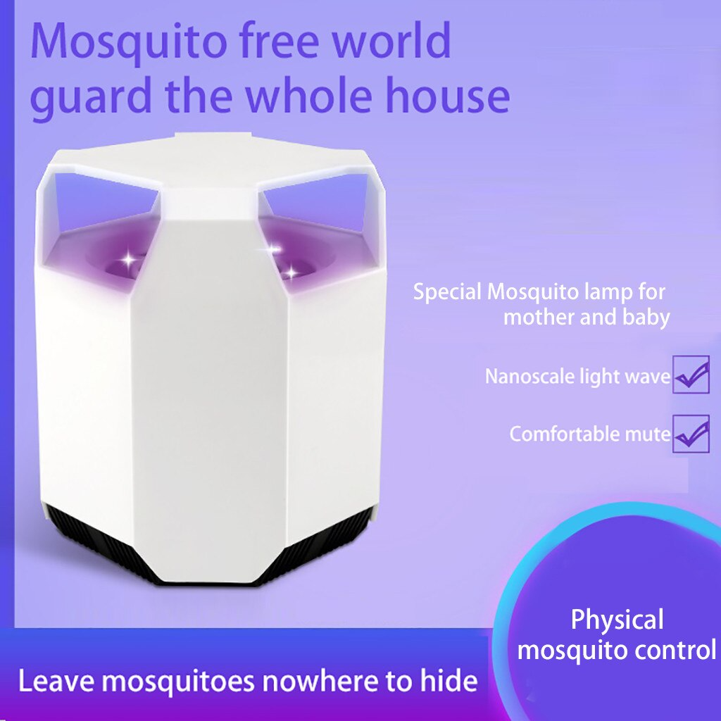 Mosquito-Killer Light 5W USB Smart Optically Controlled Insect Killing Lamp mosquito