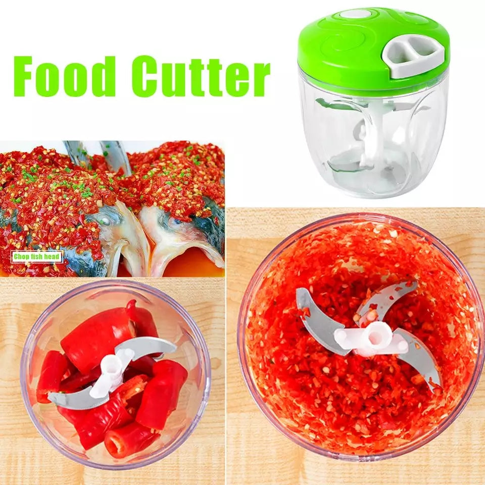 Copy of Manual Meat Grinder Stainless Steel Home Kitchen Fruit Vegetable Nuts Herbs Garlic Chopper Mincer Food Processors